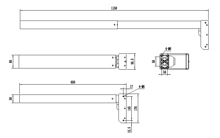 lifting column LC-R-J2 series